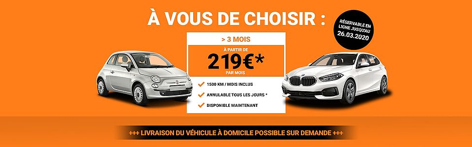 Offre Mois Sixt