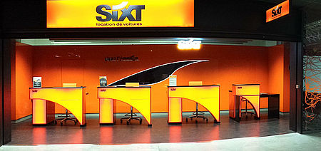 l 39 agence sixt location de voitures toulouse a roport fait peau neuve. Black Bedroom Furniture Sets. Home Design Ideas