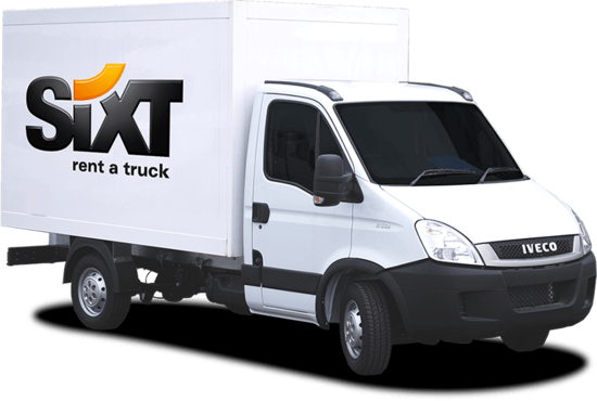 location d 39 un utilitaire iveco chez sixt. Black Bedroom Furniture Sets. Home Design Ideas