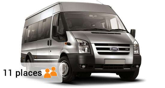 Location de minibus pour 10 personnes