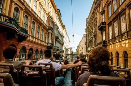 Bus tour in Budapest