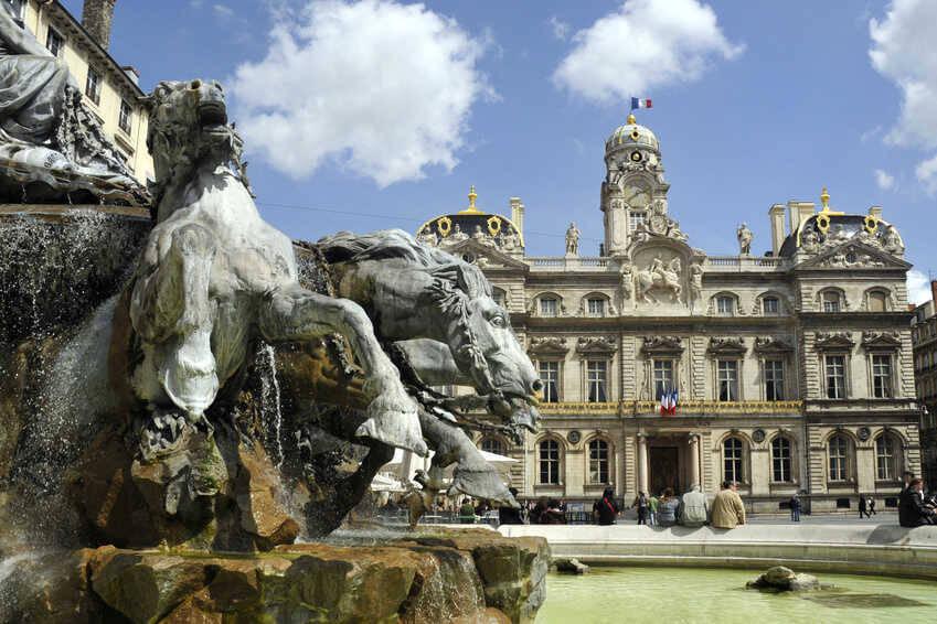 Piazza Terreux Lione
