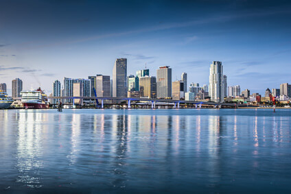 Vue sur Miami