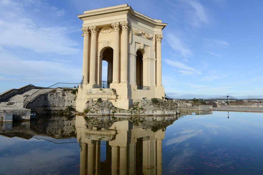 Ch�teau d'eau du Peyrou � Montpellier