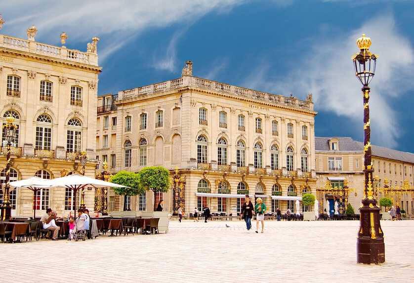 Plan Hotel De Ville Nancy