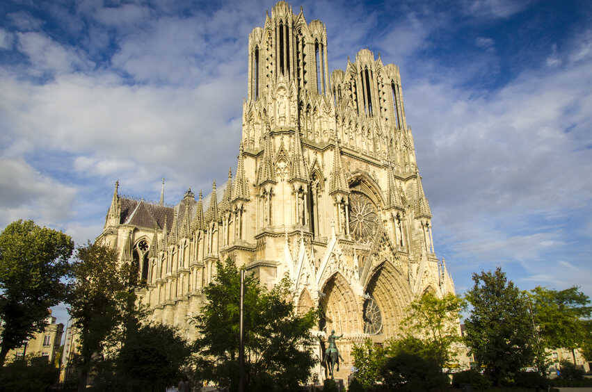 la cathedrale de reims