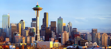 Skyline de Seattle, Washington