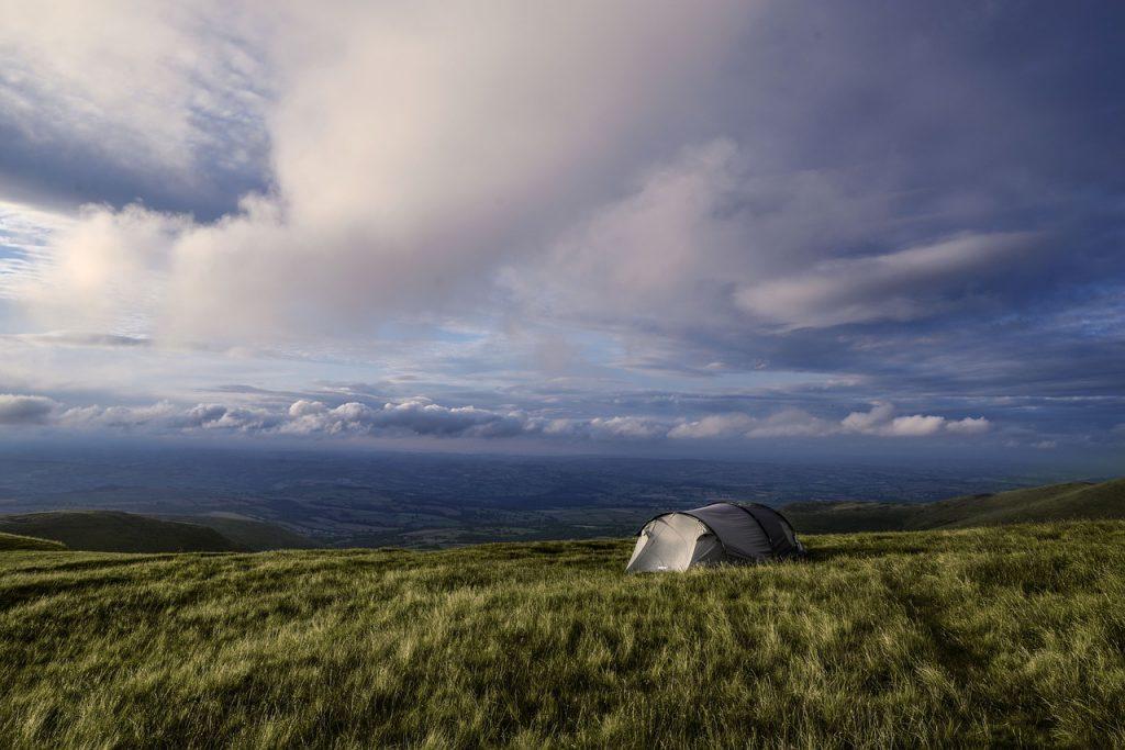 Camper au Royaume-Uni