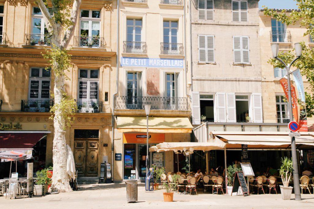 Centre-ville d'Aix-en-Provence